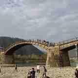 岩国にある美しい5連アーチの有名な橋「錦帯橋」は、未来への架橋だった!?