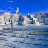インスタ映えで人気沸騰、広島県の大理石のお寺「未来心の丘」に行ってみた!