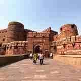 インドの世界遺産「アーグラ城塞」